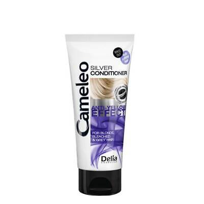 Delia Silver Conditioner for Blond Bleached Grey Hair Anti Yellow Effect 200ml