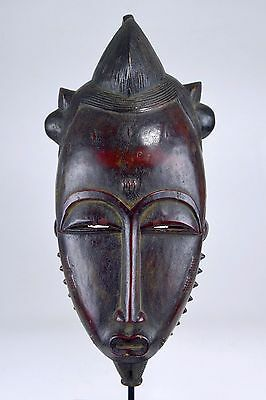 Rare and Handsome Old Baule Mblo Portrait Mask,  African Mask, African Art
