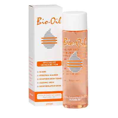 Bio Oil Specialist Skincare for Scars Stretch Mark Dehydrated Aging Skin 200ml