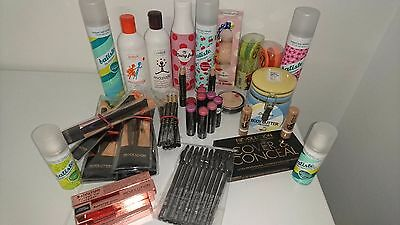 10 Items Wholesale Joblot Makeup Revolution Max Factor W7 Cosmetics Batiste