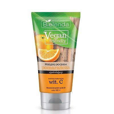 Bielenda Firming Orange Body Scrub with Vitamin C Vegan Friendly Peeling 200g