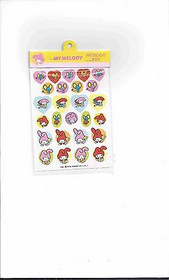 VINTAGE & RARE! 1976 Sanrio MY MELODY Artbloom Sticker Sheet from JAPAN! NEW