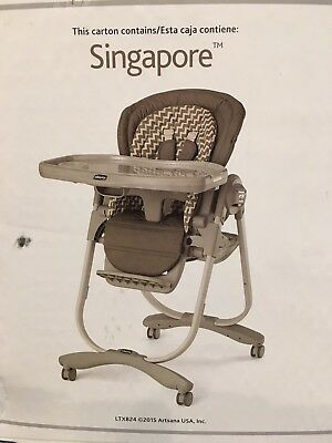 Chicco Polly Magic Highchair, Singapore - 06061691420070