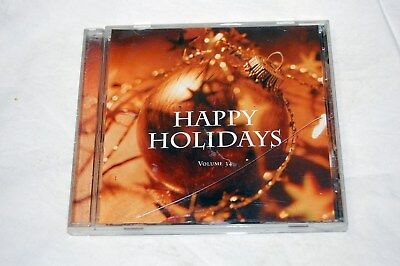 Happy Holidays Volume 34 by Various Artists (CD, BMG)