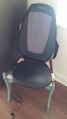 Homedics Shiatsu Massage Chair sport back pain relief excellent condition remote