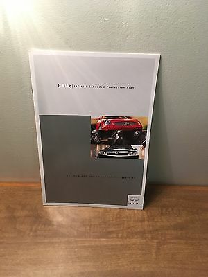 2002 Infiniti Extended Protection Plan Brochure