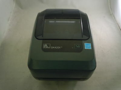 Zebra GK420T GK42-102210-000 Thermal Label Printer Tested and Working!