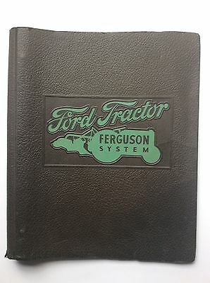 Original Ford Tractor Ferguson System BINDER/ SALES BULLETINS/PRICE LISTS