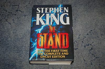 Stephen King The Stand Complete And Uncut Edition 1St Print Hardback Book Horror