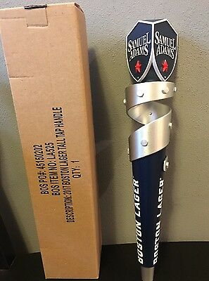 Samuel Sam Adams Boston Lager Beer Tap Handle 2017 BRAND NEW Tall !!!