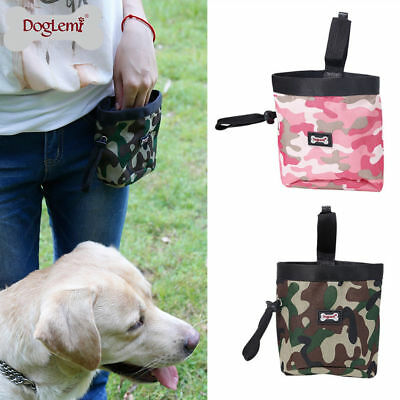 Pet Dog Puppy Snack Food Obedience Agility Bait Training Treat Snack Bag Pouch