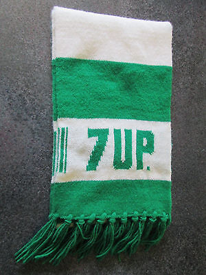 A VINTAGE ADVERTISING 7 UP SCARF. ORIGINAL OWNER.  The UNCOLA. 7up.