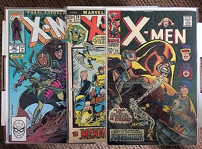 Lot of X-men with Key Issue 266