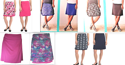 Tranquility Colorado Clothing Womens' Skort Stretch Reversible Skirt Variety NWT