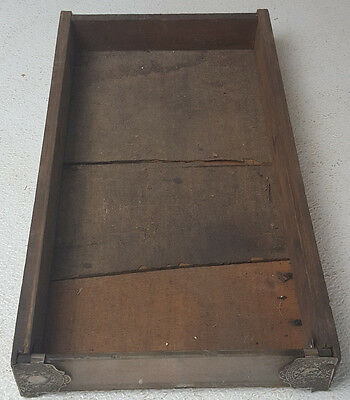Antique Brainerd & Armstrong Glass Front Wooden Pull Drawer Spool Thread