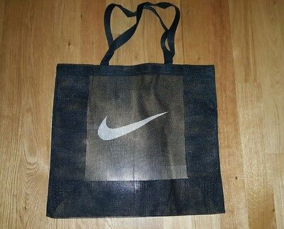 New Nike Graphic Mesh Tote Bag Gym Beach Workout Travel
