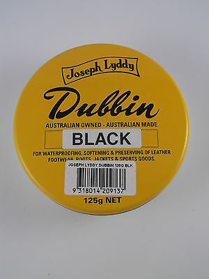 The Original Joseph Lyddy Dubbin Black 125g Reduced Price Super Special Buy now!