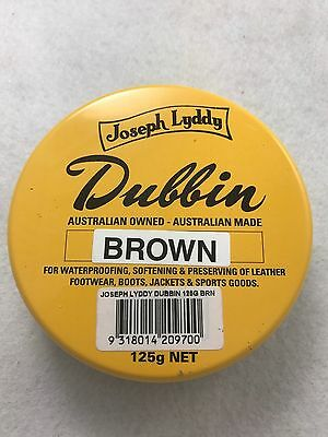Original Joseph Lyddy Dubbin Brown 125g Reduced Price Super Special Buy now!