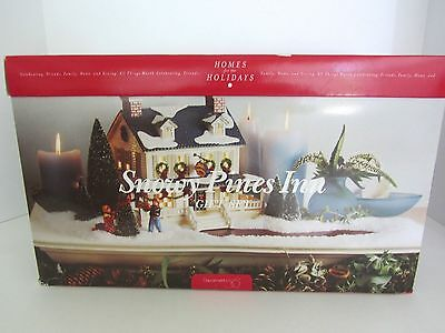 Dept 56 Snowy Pines Inn Gift Set MIB New 9 Pcs 1998 Limited Edition 54934