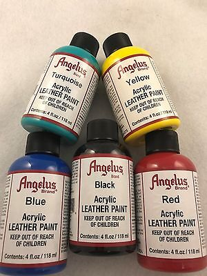 Angelus Acrylic Leather Paint for Leather Shoes, Sneakers & Bags 118ml