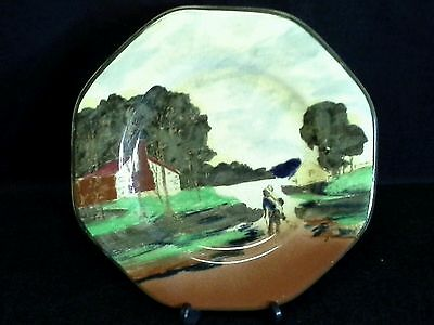 "Antique Art Deco Empire Ware ""The Bush Road"" Display Plate c1925"