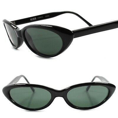 508aef1a4fd Genuine Vintage Deadstock 80s Fashion Rockabilly Small Black Cat Eye  Sunglasses