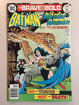 THE BRAVE AND THE BOLD #131 (Dec 1976 DC) BATMAN & WONDER WOMAN vs THE CATWOMAN!
