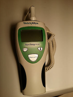 Welch Allyn SureTemp Plus 690 Thermometer with Oral and Rectal Probe Tested!