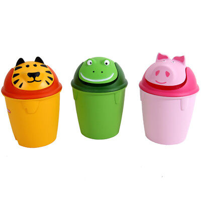 Waste Basket H 41 cm Rubbish Bin Paper Bucket Plastic