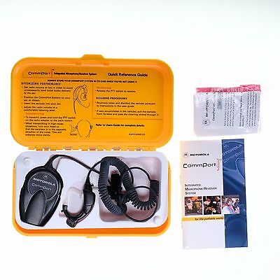 Motorola NTN8819A CommPort Ear Microphone System for XTS MTX Radios