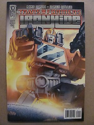 Transformers Ironhide #1 #2 #3 #4 Complete IDW 2010 Series 9.4 Near Mint