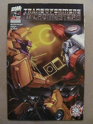 Transformers Micromasters #1 Dreamwave 2004 Series - 9.4 Near Mint