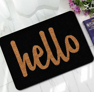 Door Mat Funny Signs Word Design Floor Rug Entrance Welcome Rug Non Slip!