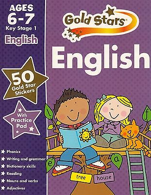 Gold Stars English Ages 6-7 Key Stage 1 by Parragon NEW BOOK (Paperback 2014)
