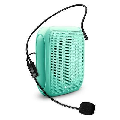 10w Portable Voice Amplifier Speaker Megaphone Booster Wired Microphone Mini New