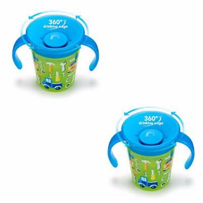 Munchkin Miracle 7oz Deco Cup- Cars 2 Pack