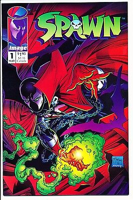 Spawn #1 - 1992 - Image - McFarlane - NM+