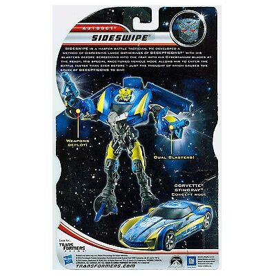 Transformers 3 Dark of the Moon 2011 SIDESWIPE MOVIE EXCLUSIVE Deluxe Class DOTM
