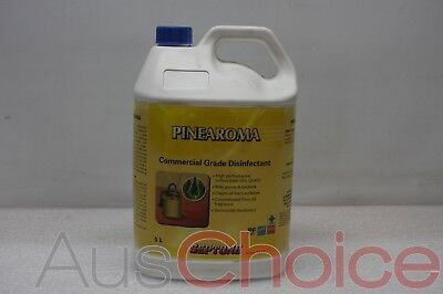3 x Septone Pinearoma HDP5 5L Litre Commercial Floor Cleaner & Disinfectant