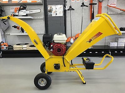 Greatbull Chipper Shredder Honda GX200 Engine (Self Feeding) 6.5hp GBK65H