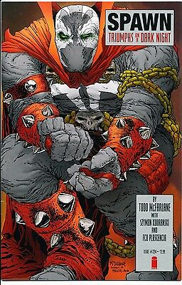 Spawn #224 - Dark Knight Returns #2 Cover Homage - McFarlane