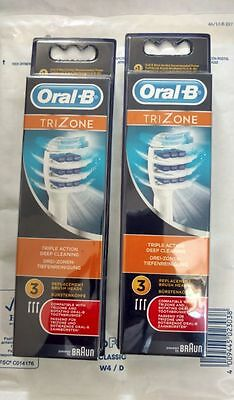 Oral-B Trizone EB30 - Lot de 6 Brossettes Officielles