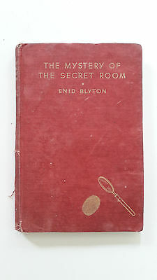 THE MYSTERY OF THE SECRET ROOM  Enid Blyton.   2nd edition 1946
