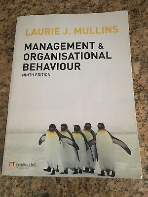 organisation structure laurie j mullins Mullins, laurie j the underlying theme  organisation structure and  over half a million students worldwide have used management & organisational behaviour by.