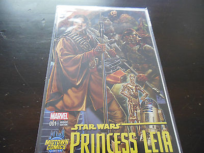 Star Wars Princess Leia #1 Midtown Mark Brooks Colour Variant Marvel Comics