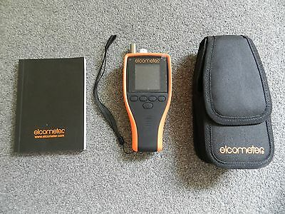 elcometer 319 dewpoint meter with case and user guide