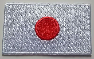 Japan Flag Patch Embroidered Iron On Applique Japanese