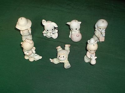 Large Lot of Precious Moments Figurines & Christmas Ornaments