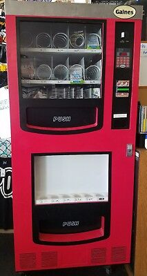 Gaines Vending Machine combo soda can drink water snack VM750