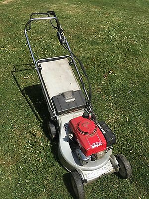 honda hr194 autodrive lawnmower picclick uk. Black Bedroom Furniture Sets. Home Design Ideas